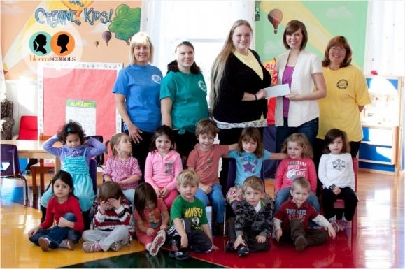 Bloom Wayzata gives back to Creative Kids Academy Orono
