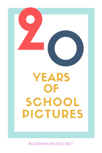 20 years of school pictures (1)